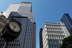 New York   horloge