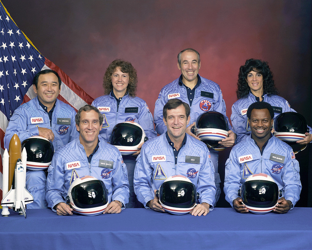 Official STS-51L Crew Portrait (NASA)