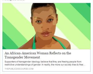 African American Woman on Transgender